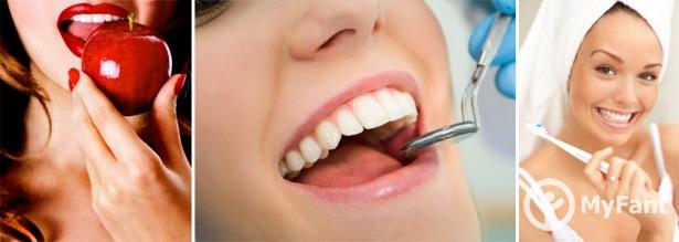 В молочном зубе дырка сто к одному